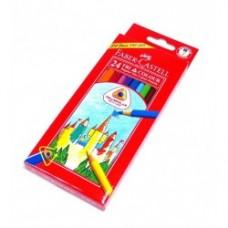 24 crayons de couleur Faber-Castell