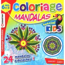 COLORIAGE MANDALAS KIDS 6-14 ANS DECEMBRE 2019