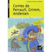 Contes de Perrault, Grimm, Andersen de  Perrault, Charles